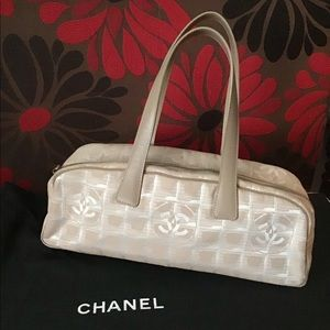 Chanel Travel Line Jacquard Mini hobo